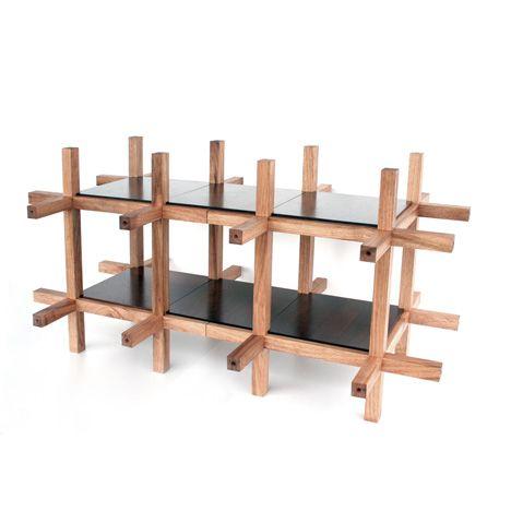 Traditional Japanese Furniture chidori furniturekengo kuma and associates | kengo kuma