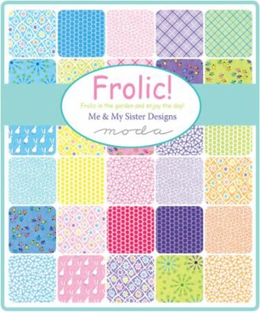 Frolic Jelly Roll, Me & My Sister by Moda | Quilting
