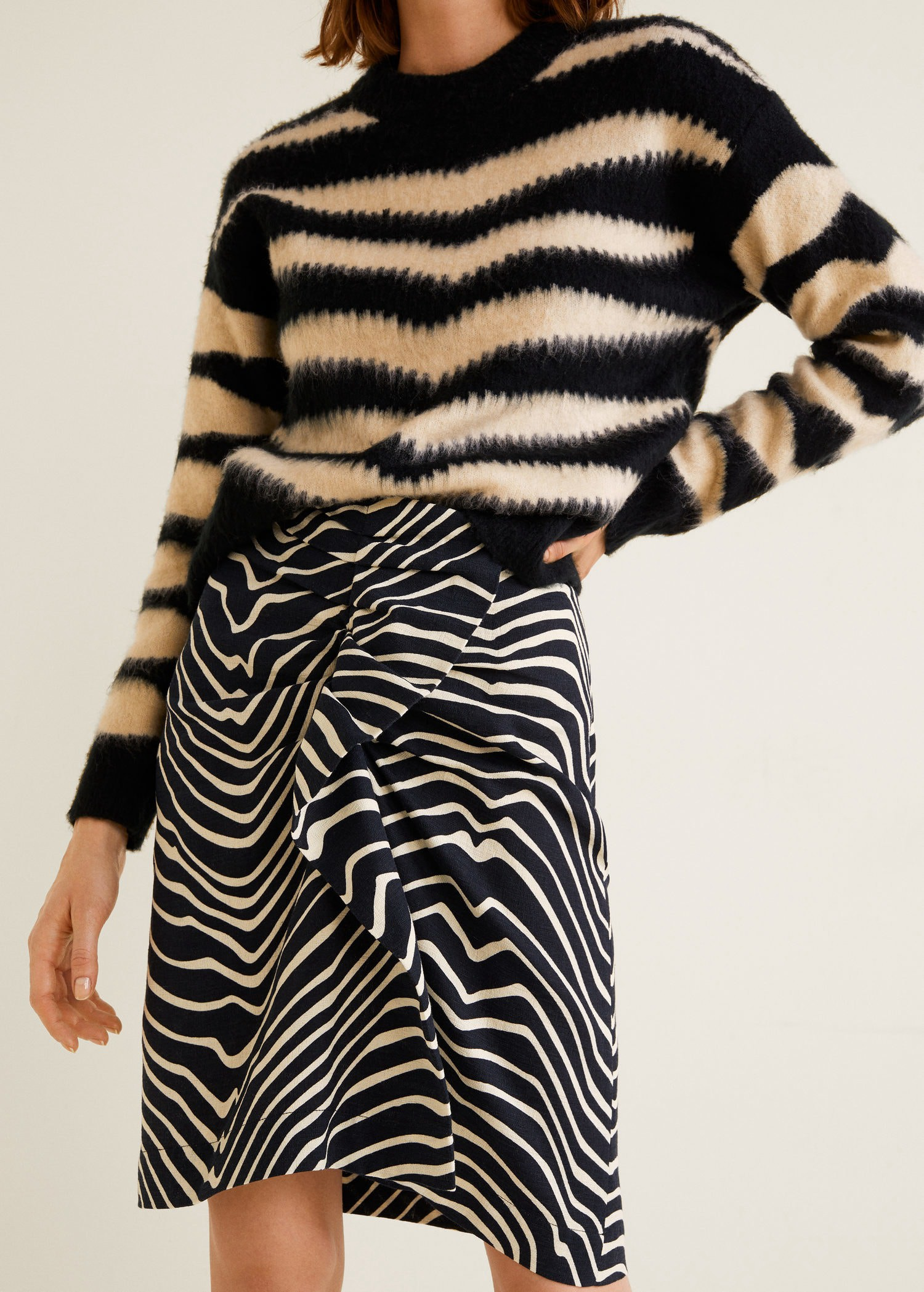 6e629122e4 Mango Printed Cotton Skirt - M. Find this Pin and ...