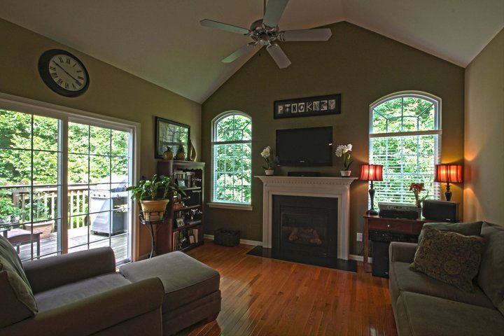 Cathedral Ceiling Paint Idea Living Room Paint Vaulted Ceiling