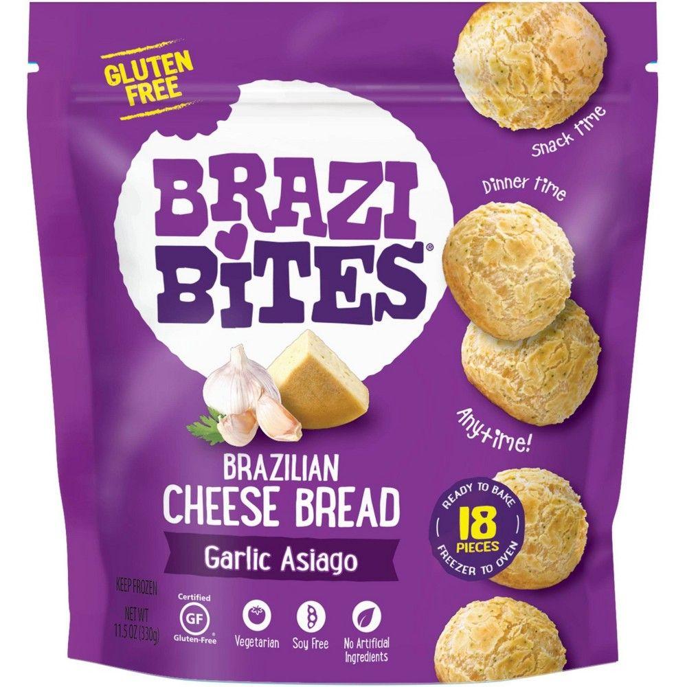 Brazi Bites Garlic Asiago Frozen Brazilian Bread 11 5oz Target Brazilian Cheese Bread Brazi Bites Brazilian Bread