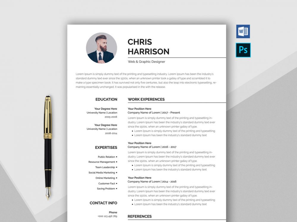 Resume Templates Word Free (6) TEMPLATES EXAMPLE