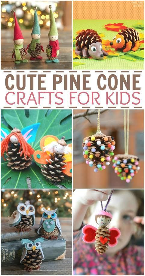 Cute pine cone crafts for kids pinecone pine cone for Pine cone crafts for children