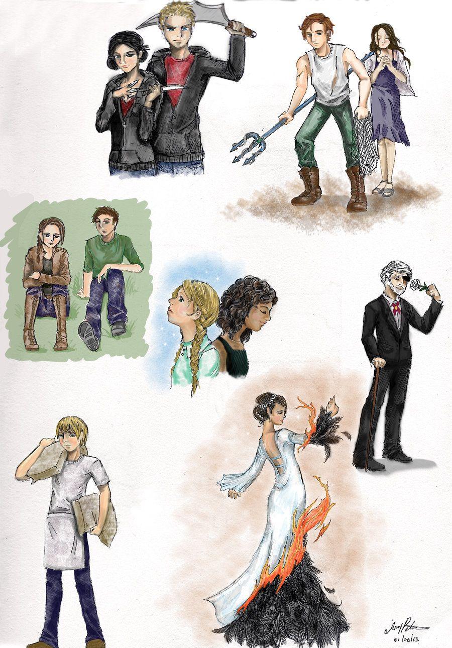 Hunger Games Fan Art / Catching Fire / Katniss | Hunger