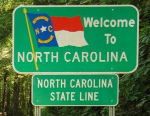 North Carolina  I lived in Asheboro,NC for several years, Mom lived in Waynesville,NC many years later.