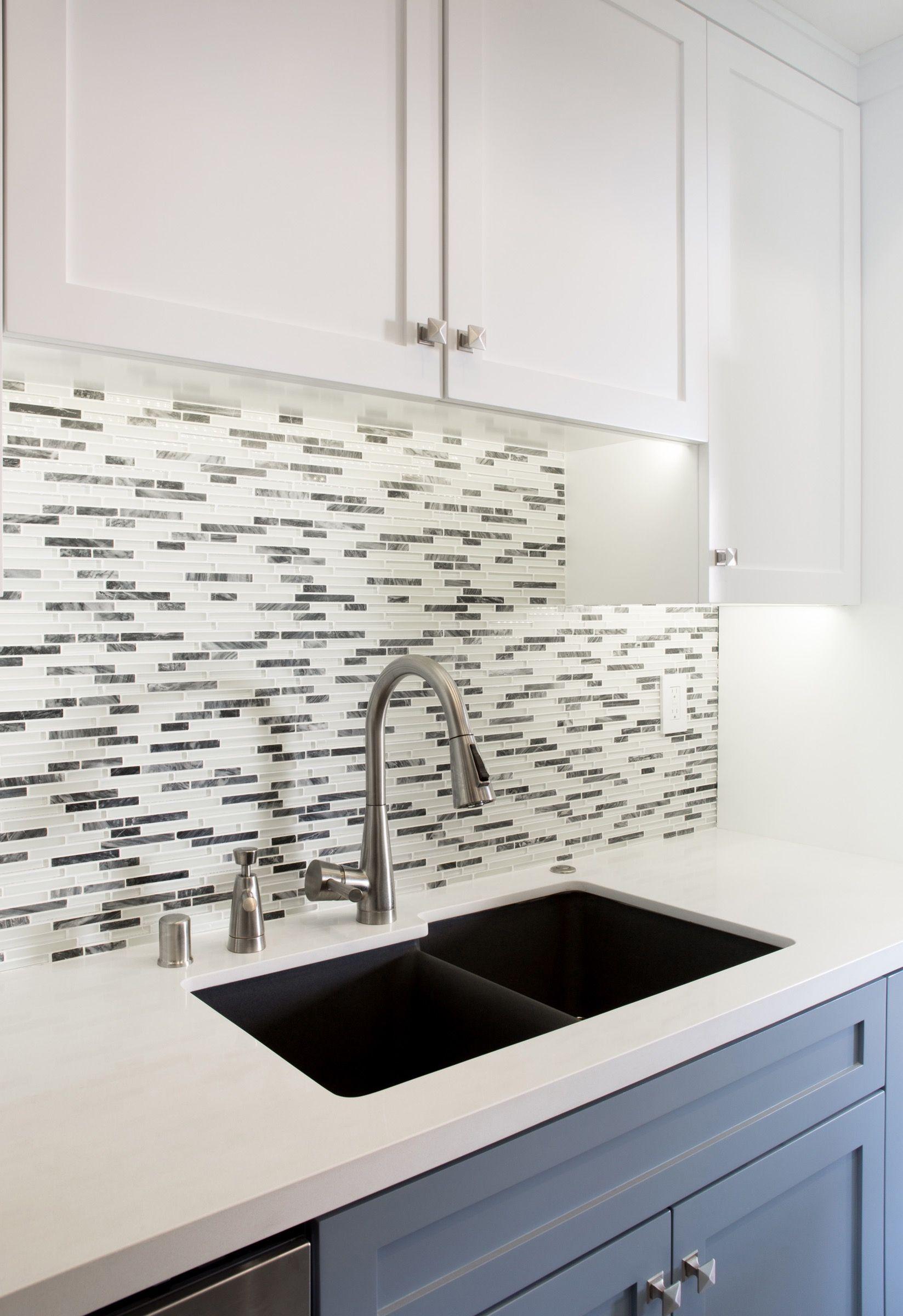 Elegant Benutzerdefinierte Senke Backsplash Ideen Für Ihre Neue Küche