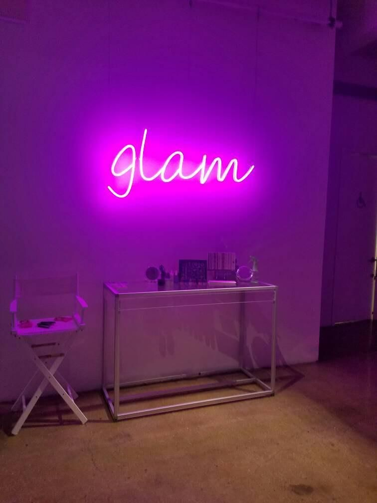 Custom LED Neon Signs | Home ideas | Diy decoración