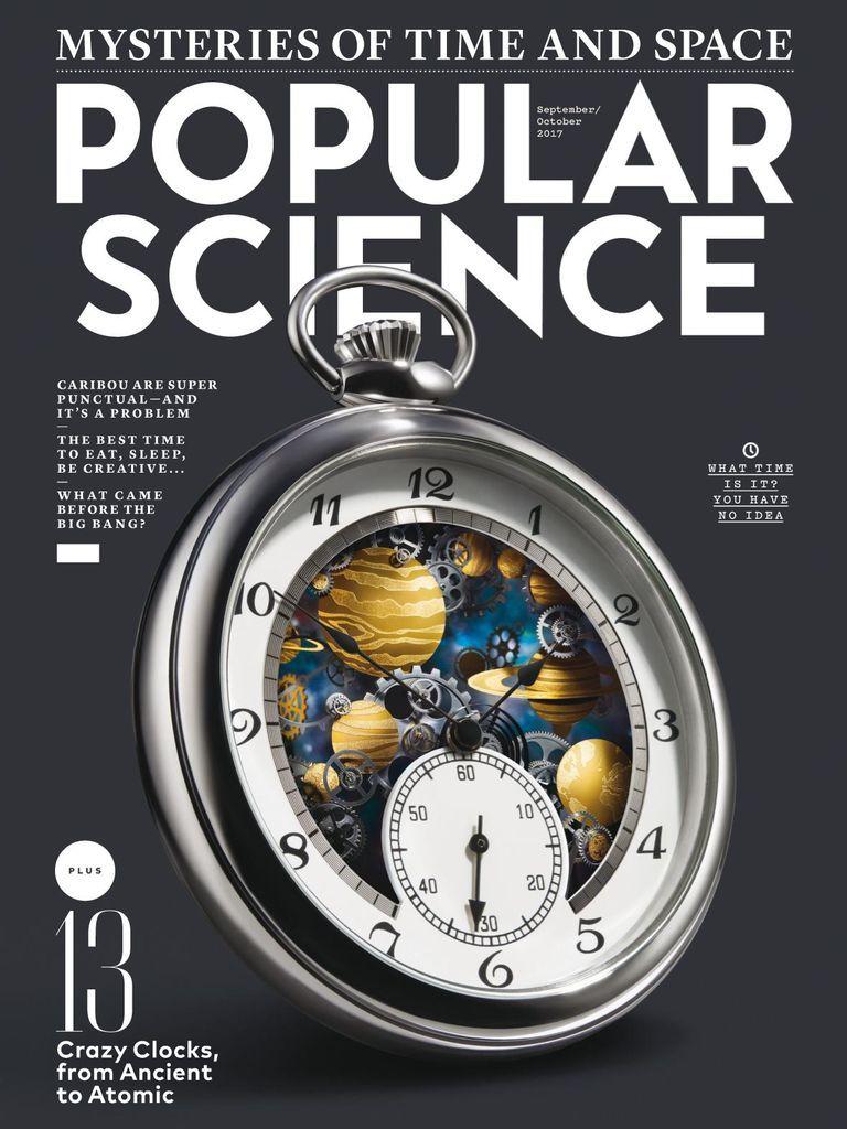 Popular Science Back Issue September/October 2017 (Digital