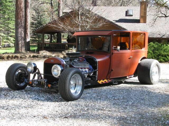 1927 Ford Model T 2 Door Sedan Ford Models Model T Ford
