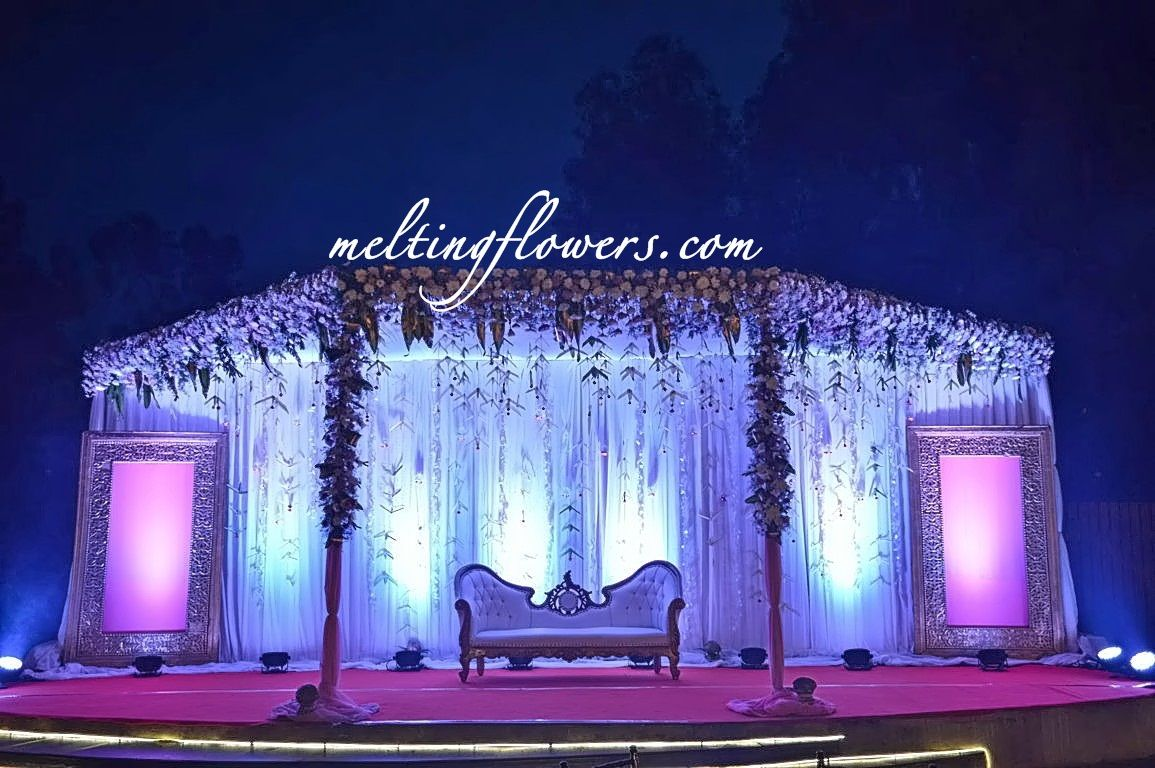 Day wedding stage decoration  Latest Decorations Seen At Indian Weddings Theme Wedding
