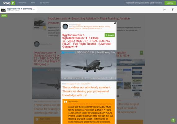 flygcforum com ✈ flightdeck2sim #2 ✈ X Plane 11 - ZIBO MOD