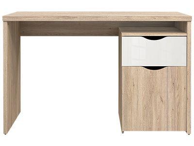 Bureau chene blanchi meubles chambre enfant tables de bureau