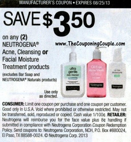 picture regarding Printable Neutrogena Coupon identify Neutrogena Moneymaker at Walmart ~ Dont make it possible for your coupon