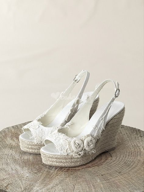 qué zapatos de novia calzar para una boda en primavera | zapatos