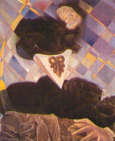 MAX ERNST. Euclides (1945)