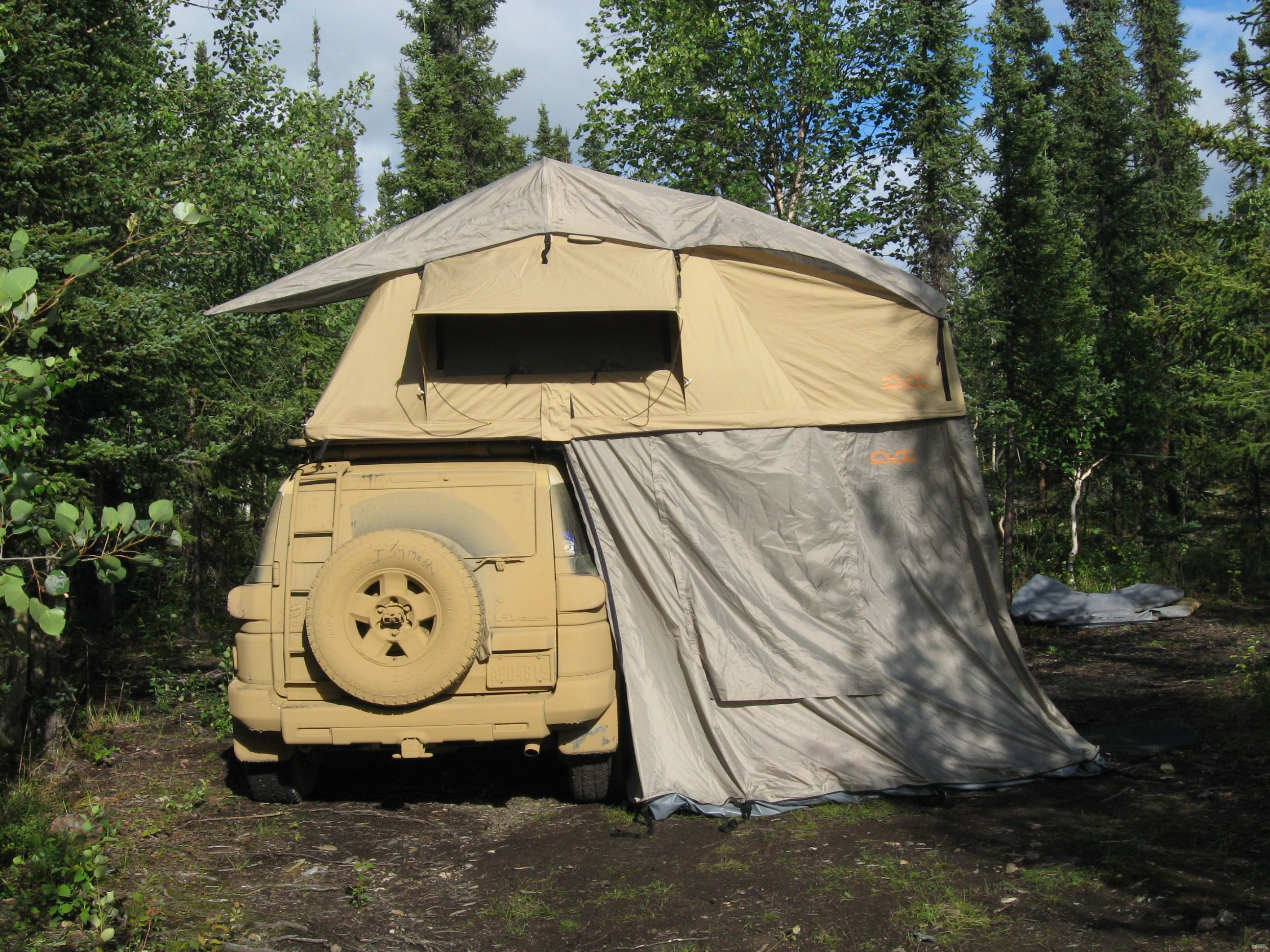 Thank you Ken! http://cascadiatents.com/Roof_Top_Tents.htm ... on Cascadia Outdoor Living Spaces id=31983