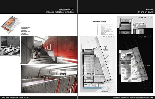 architecture design portfolio layout. Architecture Portfolio 29-30 | Flickr: Intercambio De Fotos Design Layout H