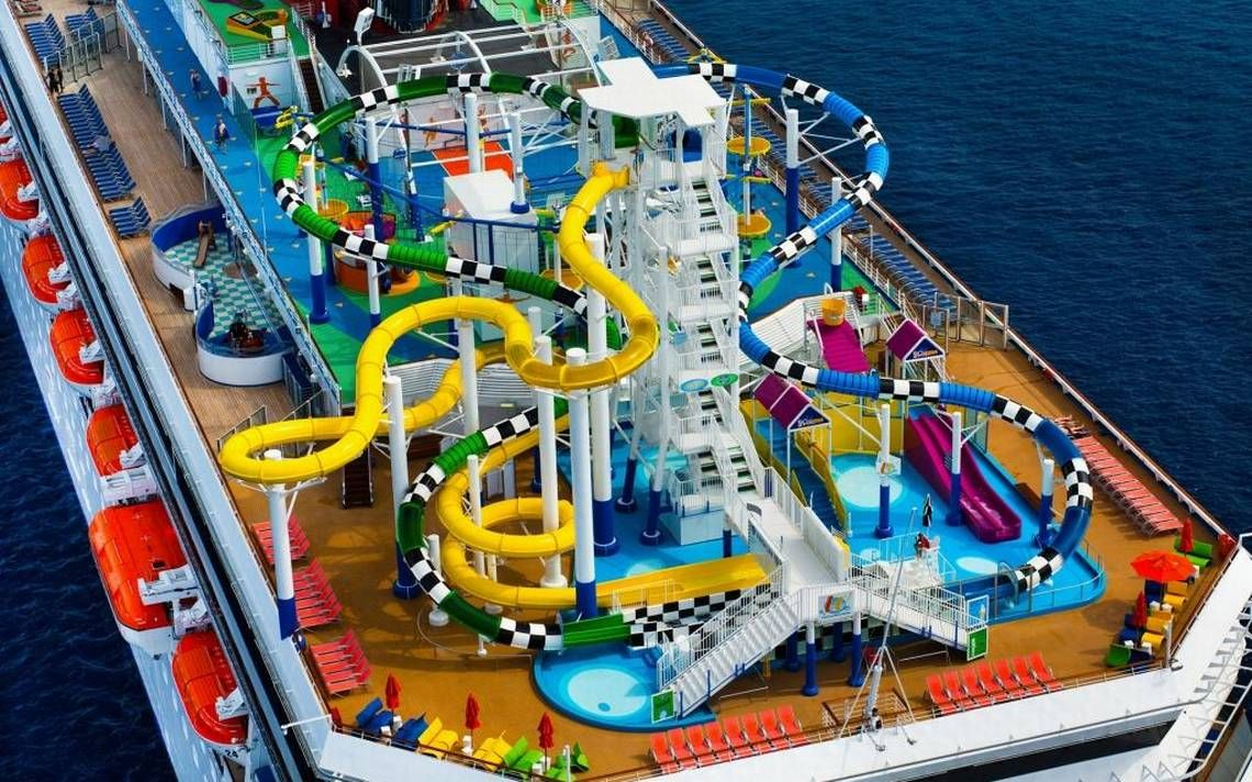 Cruise ships get extreme makeovers: water parks, bars ...