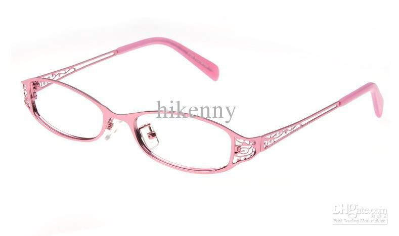 06283fa998a Wholesale Eyeglass Frame - Buy Fashion Eyewear Womens Eyeglasses Frame Lady  Full Glasses for Women Alloy Eye Glasses Red Or Black Pink Color.