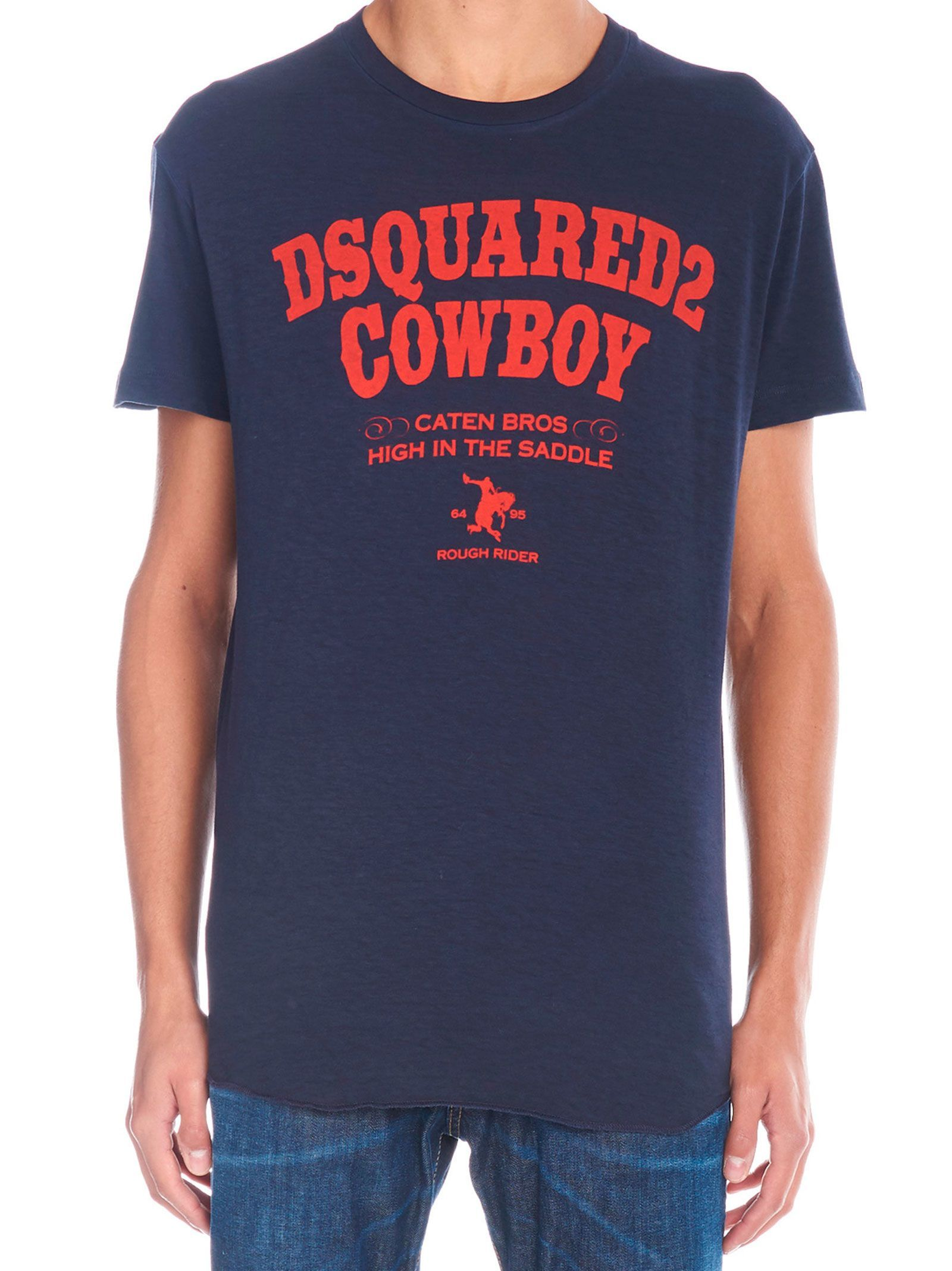 bdec0684d23601 DSQUARED2 'DSQUARED2 COWBOY' T-SHIRT. #dsquared2 #cloth | Dsquared2 ...
