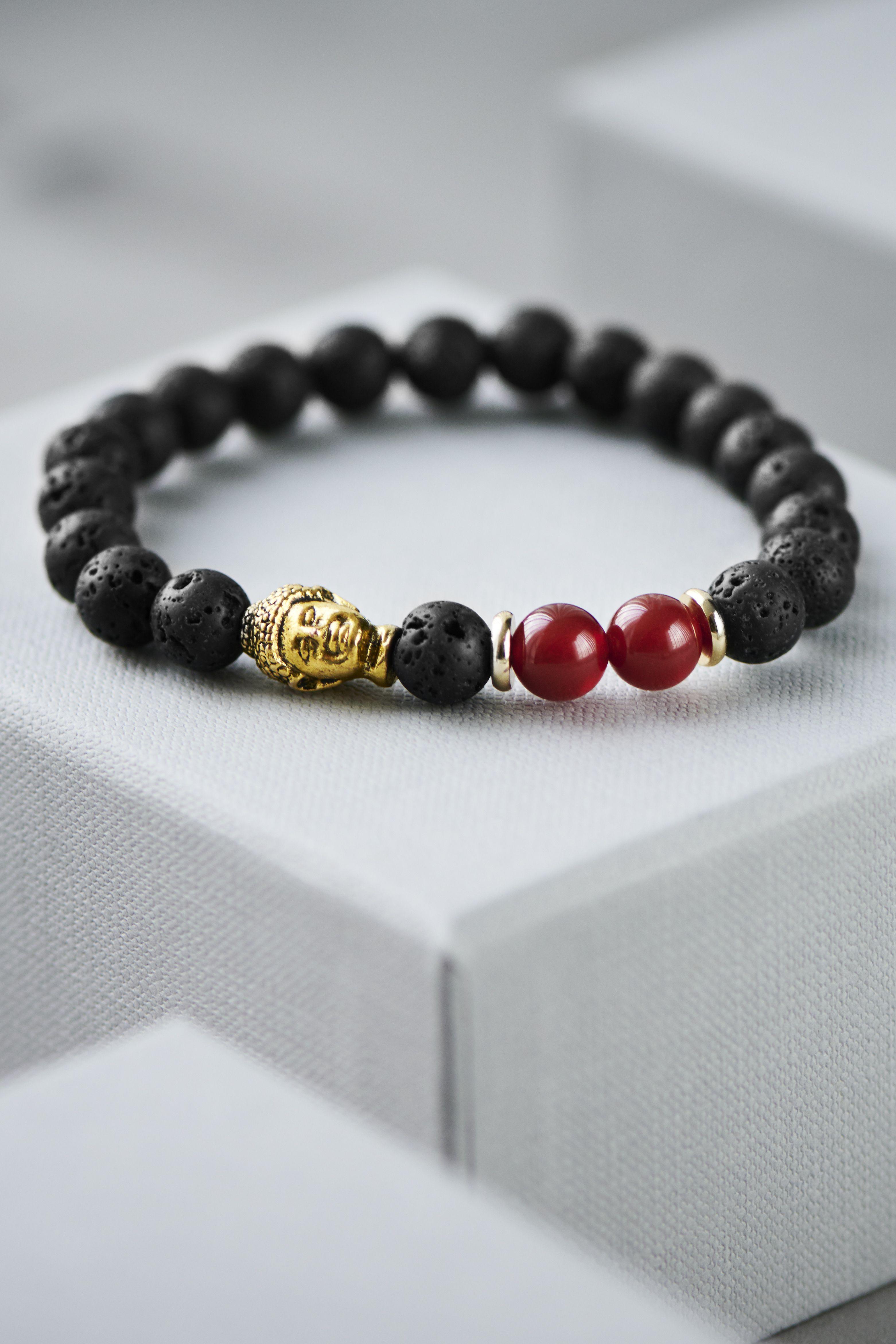 Royal Ruby Red Pearl Beads Diamante Designer Bracelet