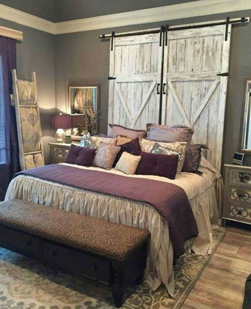45 Amazing Farmhouse Bedroom Ideas