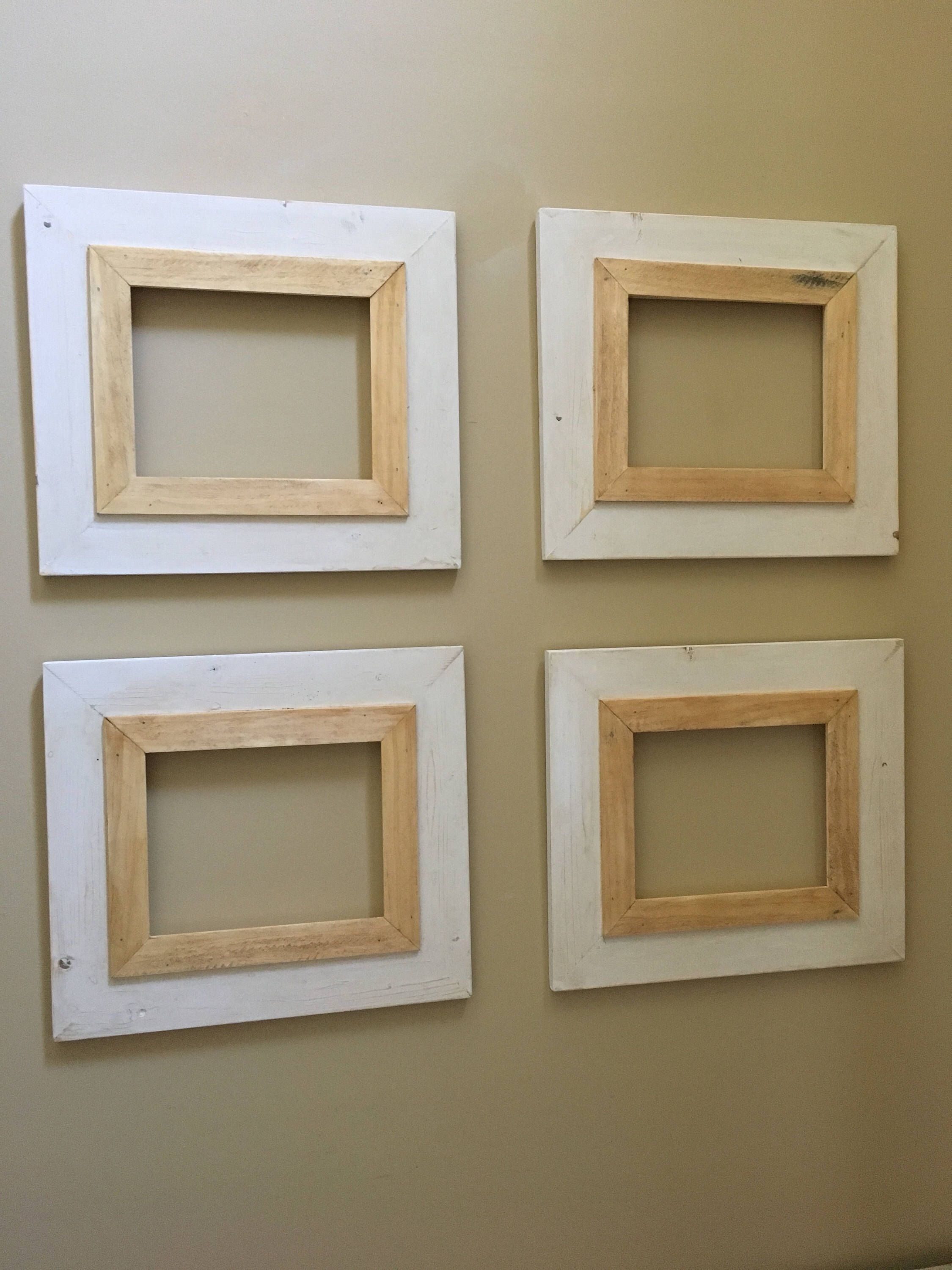 Grouping of 4 8x10 Picture Frames   8x10 picture frames
