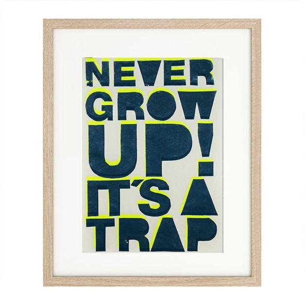 nicht erwachsen werden wollen