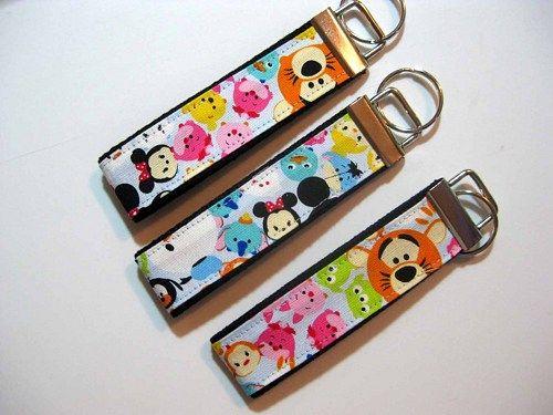 be579d176fad Title: TSUM TSUM wristlet keyfob key chain. Imported 100% Cotton ...