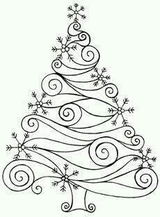 Trace the design in puffy paint; trim w/ confetti or punched snowflakes