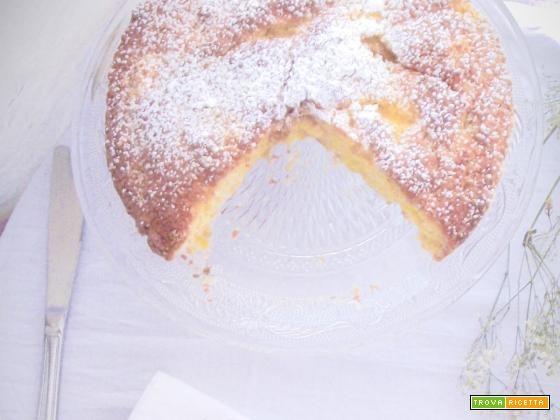 La torta rustica al cocco e ananas  #ricette #food #recipes