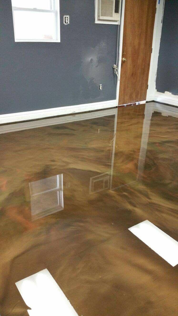 Not your average epoxy floor in 2020 Flooring contractor