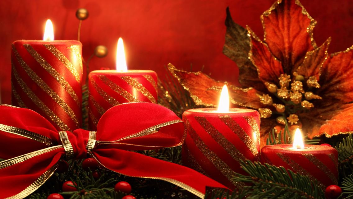 christmas candles | Free Download Christmas Candle lights HD ...