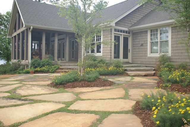 The Hilltop Landscaping Patio Projects Flagstone Patio Patio
