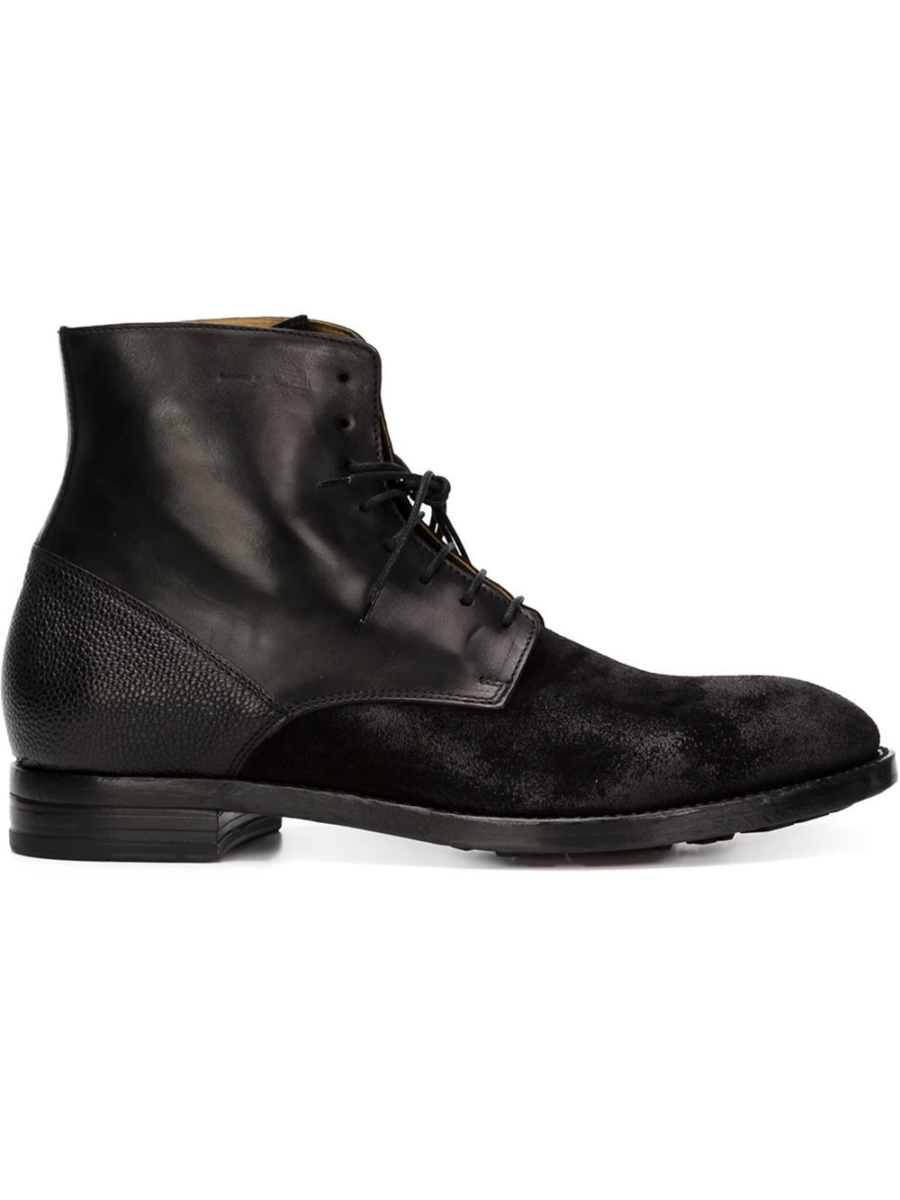 Discount Shop Mens Buttero Lace-Up Ankle Boots Special Sales