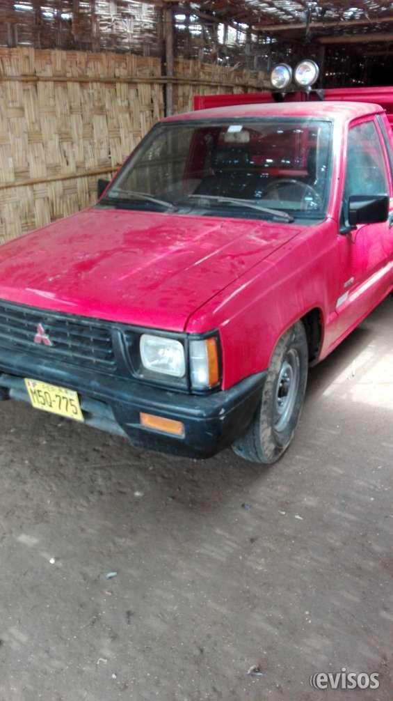 Vendo Camioneta Baranda Mitsubishi L200 Diesel 1998 Cabina Simple Camionetas Mitsubishi L200 Venta De Camiones