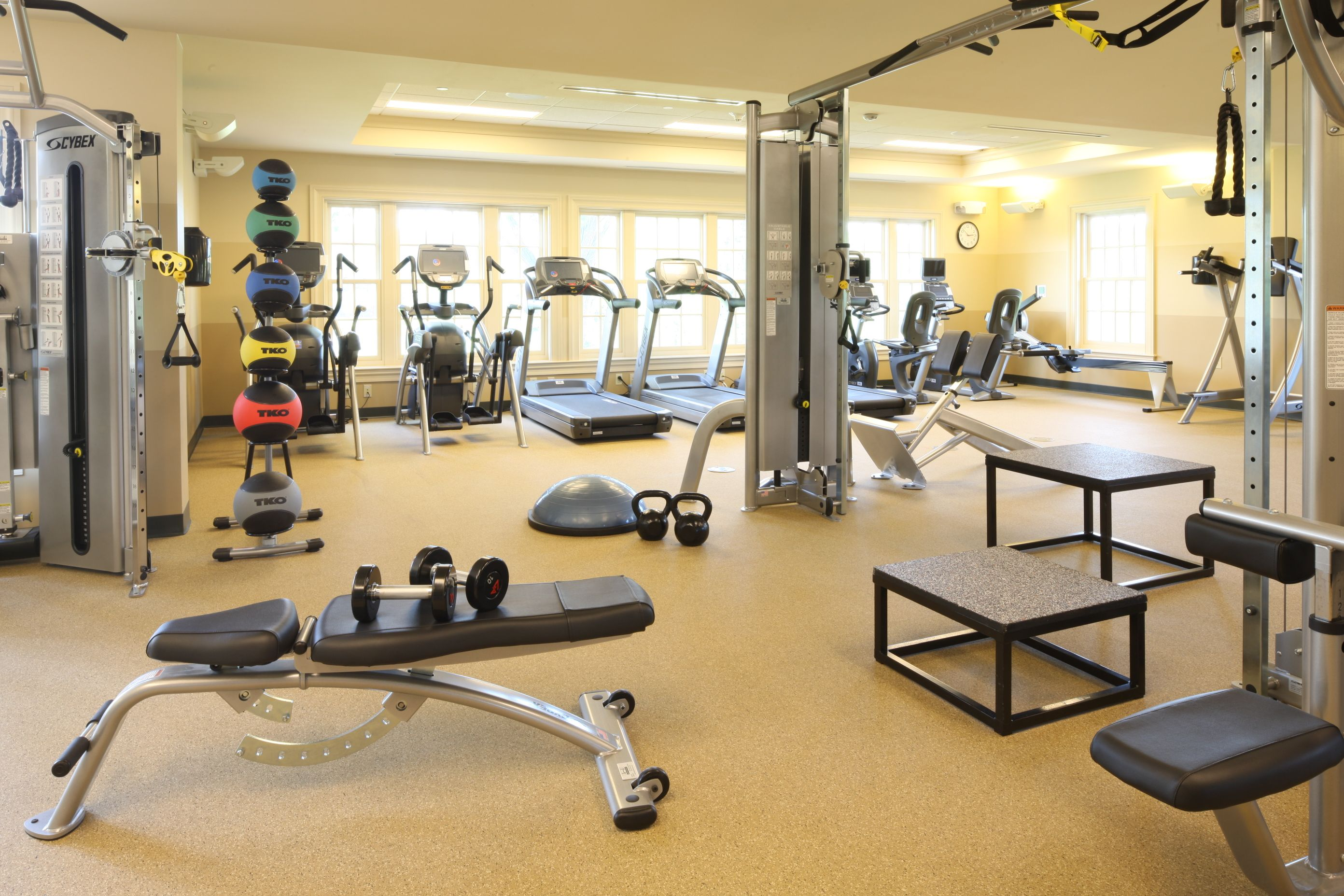 Scarsdale Country Club In Scarsdale New York Has A New Highly Sought After Fitness Center Thanks To Recent Renovations Studio Funcional