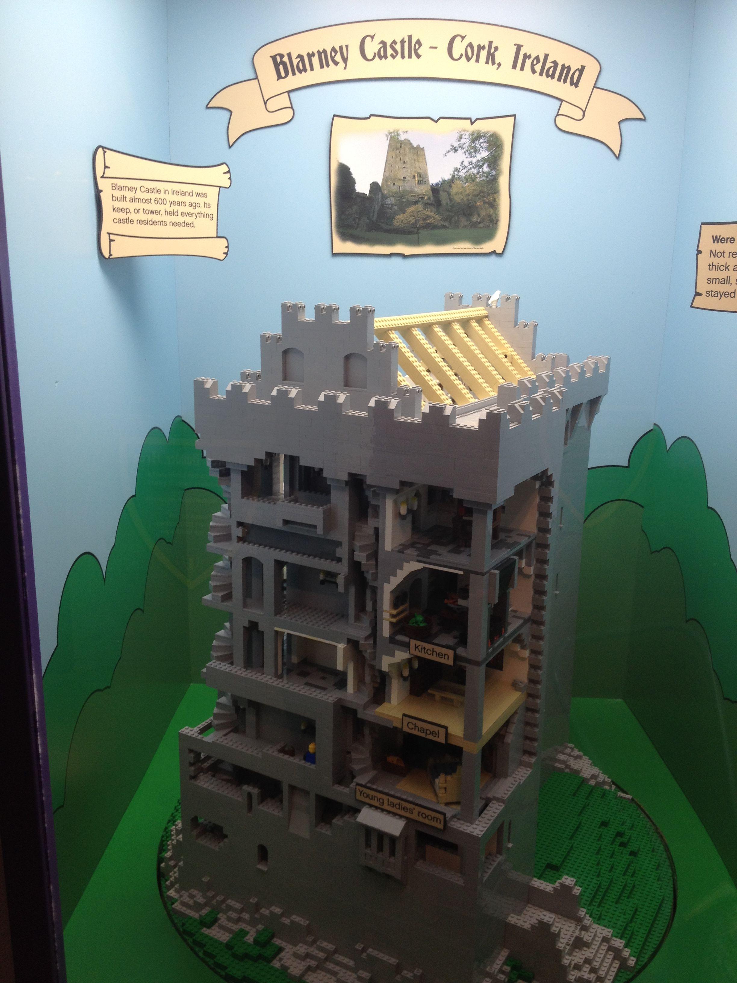 lego set of blarney castle cork ireland lego