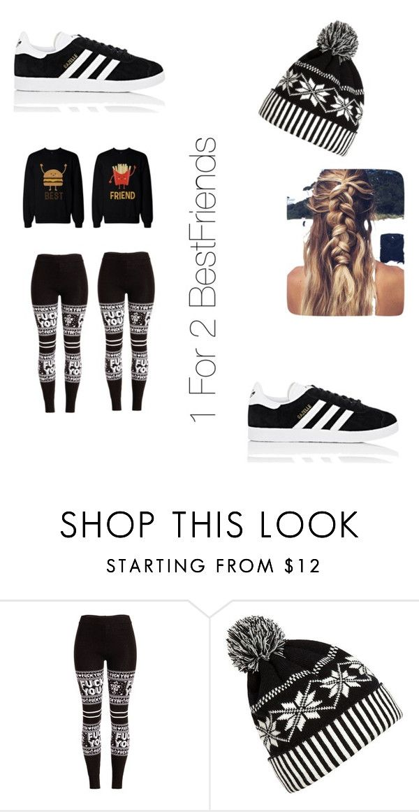 """Food Squad"" by futurefahiondesigner ❤ liked on Polyvore featuring WithChic and adidas"
