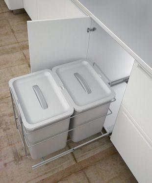 White Kitchen Bin Uk