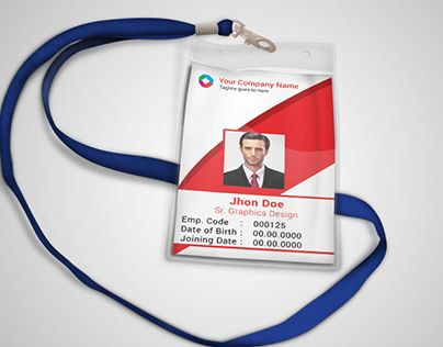 Check out this @Behance project u201cCorporate official ID card - id card template