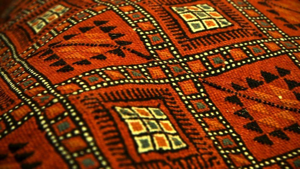 """""""Kilim"""" est un mot kurde qui veut dire tapisserie un"""