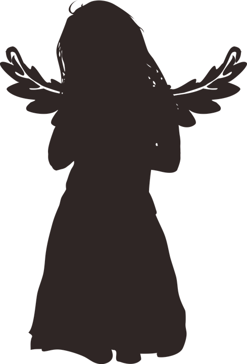 Free Image On Pixabay Silhouette Little Girl Young Graphics