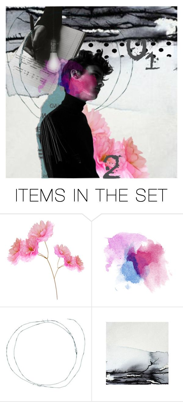 """Lost In Thoughts"" by icequeen-ns ❤ liked on Polyvore featuring art"
