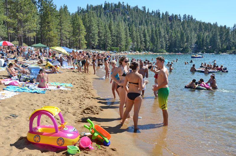 Zephyr Cove Beach Lake Tahoe Nevada Tahoeactivities