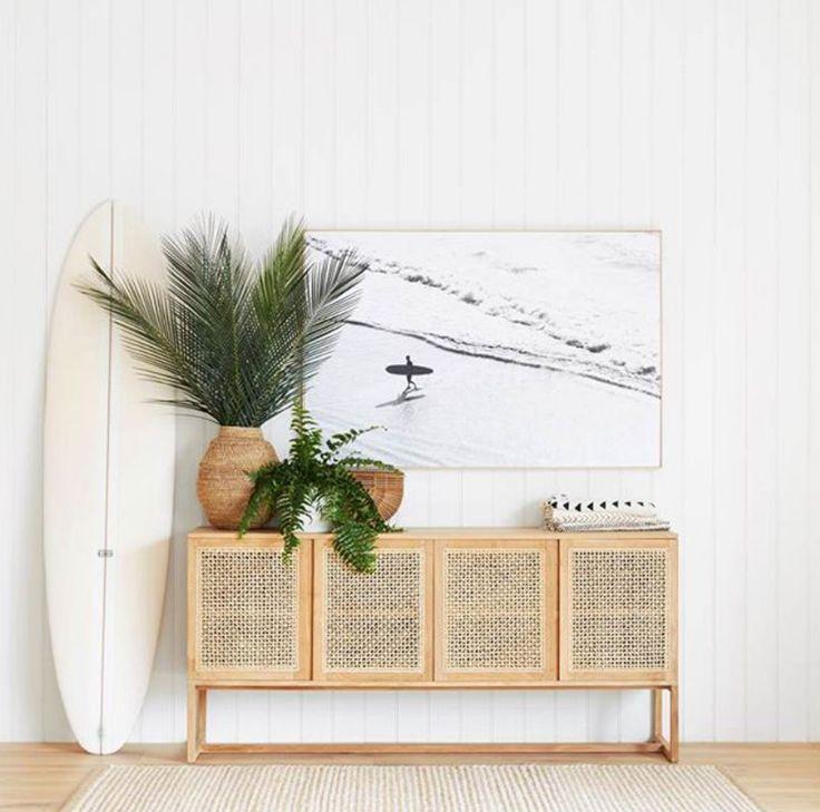 Cane on the Brain - Eine Retro-Textur mit modernem Flair #coastallivingrooms
