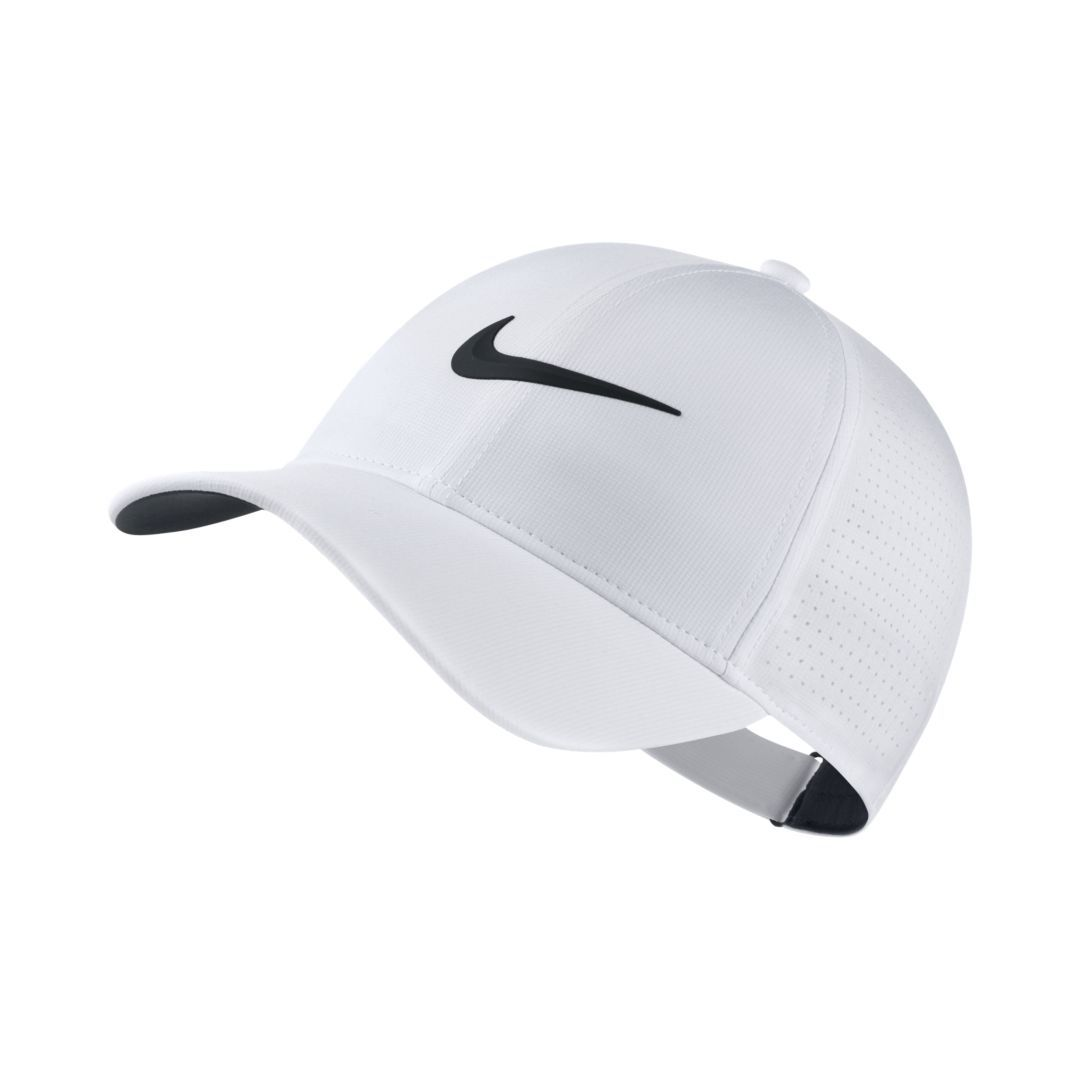 d31d882ec Nike AeroBill Legacy 91 Adjustable Golf Hat Size ONE SIZE (White ...