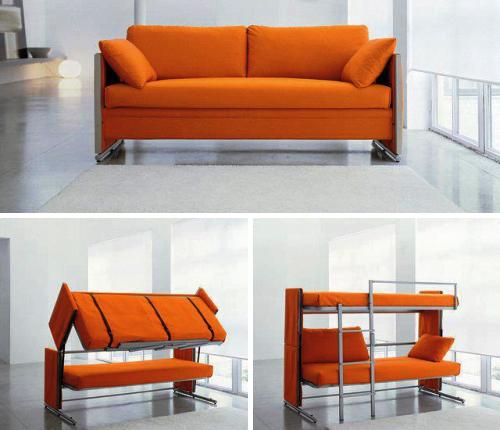 mueble multifuncin sofa litera