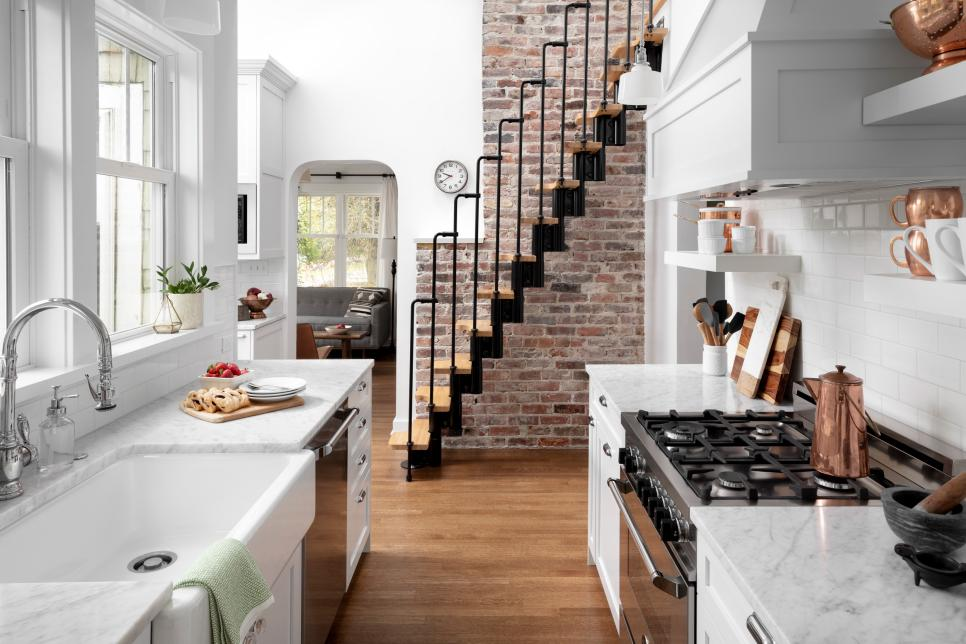 See 75 Stylish Small Kitchen Designs Hgtv With Images Small
