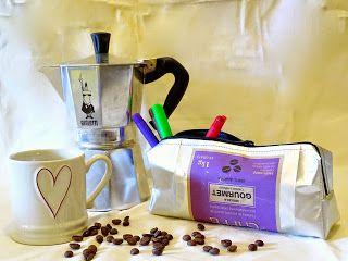 muntanellina: Etui aus Kaffeebeutel